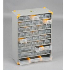 Plechová skříňka VarioPlus Metall 48 (35 + 13)
