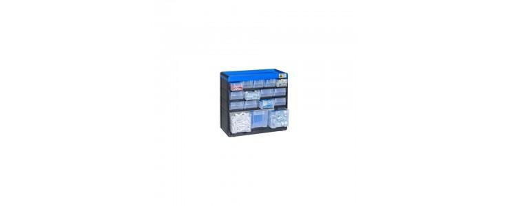 Plastové zásobníky na drobné díly