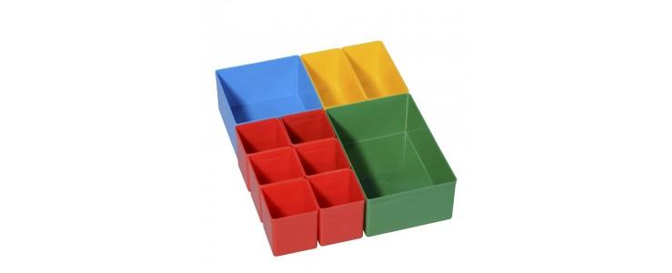 Krabičky z umělé hmoty EUROPLUS