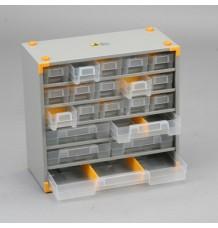 Plechová skříňka VarioPlus Metall 33 (20 + 13)